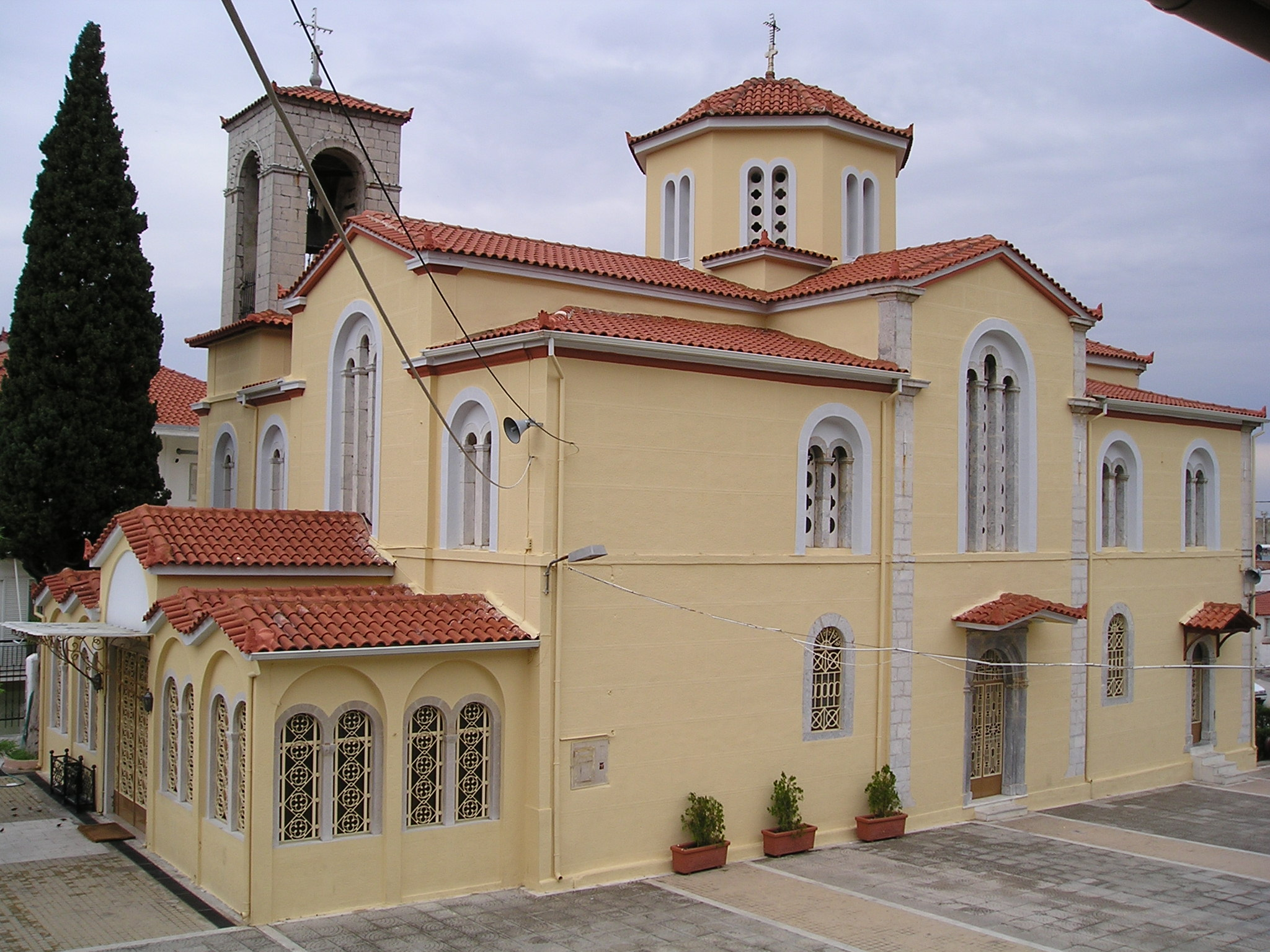 GREEK OTHODOX CHURCH OF EVANGELISTRIA IN LIVADEIA